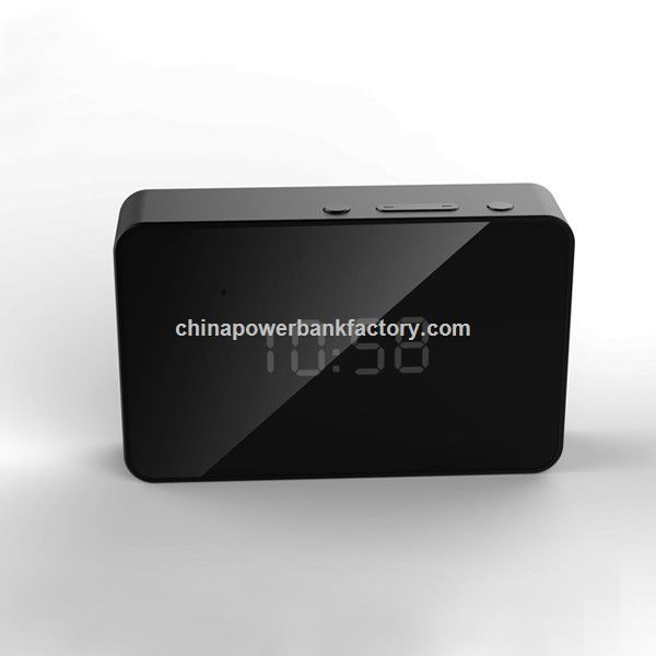 New arrival smart clock power bank 5000mah