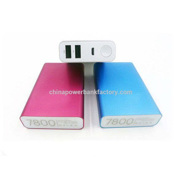 External Battery Pack Power Bank 10400mAh Charger