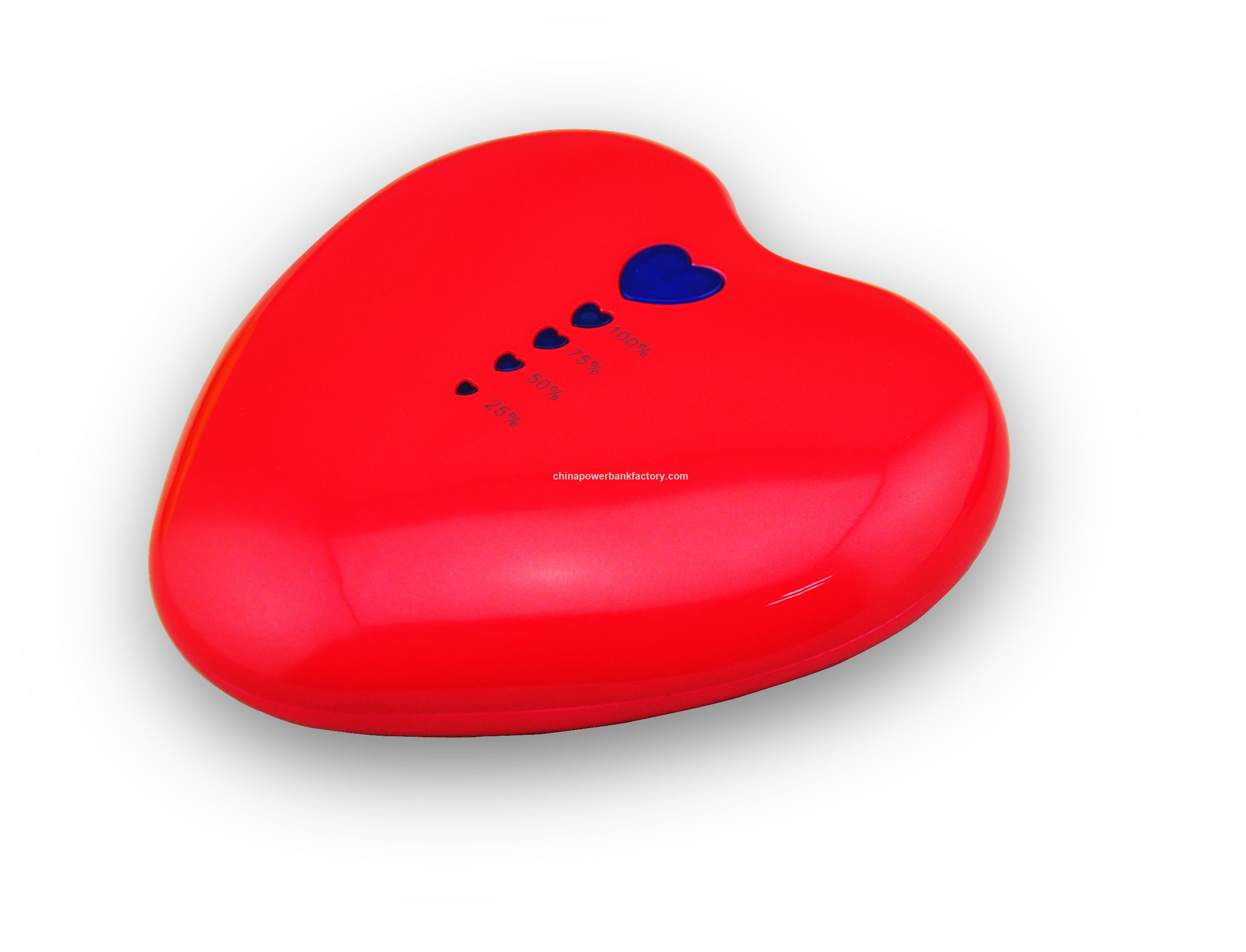 New Design Power Bank 5200mAh Heart Shape