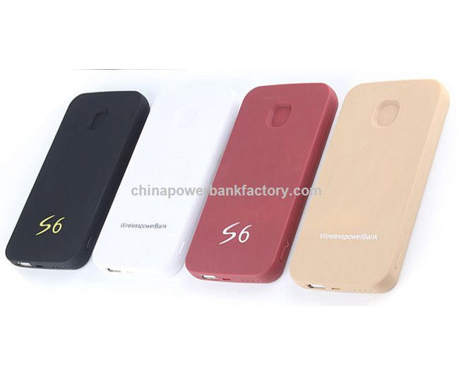 New Products 100% True Capacity 6000mAh Portable Mobile USB External Power Bank