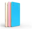 super slim 8000mAh Li polymer Power Bank rechargeable power banks with good quality and fashion design