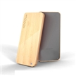 Mobile battery charger li polymer wooden 4000mah 5000mah power bank