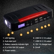 Multifunctional 12V 21000mAh Emergency Power Bank Mini Car Emergency Jump Starter