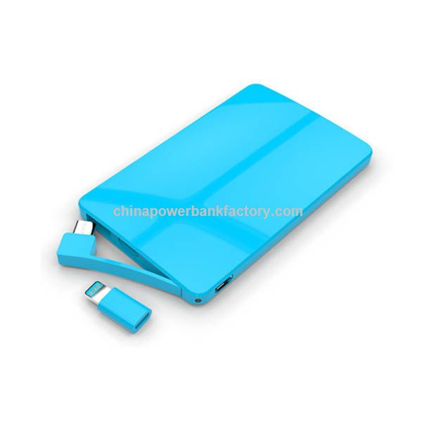 New Credit Card 3000 mAh Mobile Power Bank